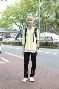 ファッションコーディネート原宿・表参道 2012年07月 KENTさん
