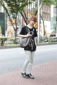ファッションコーディネート原宿・表参道 2012年07月 斎藤亮太さん