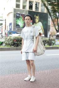 ファッションコーディネート原宿・表参道 2012年07月 南部勝利さん
