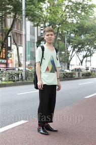 ファッションコーディネート原宿・表参道 2012年07月 コンさん