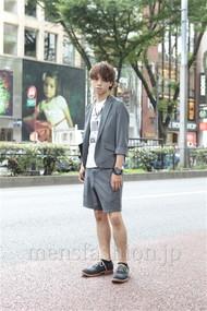 ファッションコーディネート原宿・表参道 2012年07月 音吉洋介さん