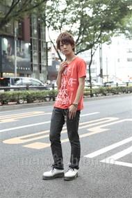ファッションコーディネート原宿・表参道 2012年07月 大倉士門さん