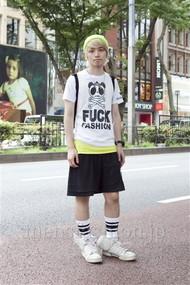 ファッションコーディネート原宿・表参道 2012年08月 浜本忠勝さん