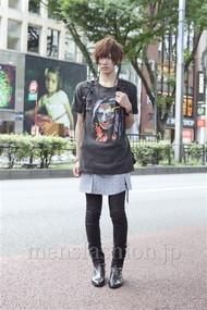 ファッションコーディネート原宿・表参道 2012年08月 山本健矢さん