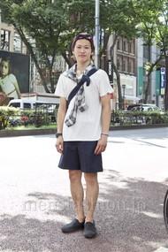 ファッションコーディネート原宿・表参道 2012年08月 ワタベショウマさん