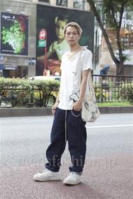 ファッションコーディネート原宿・表参道 2012年08月 岩井拳士朗さん