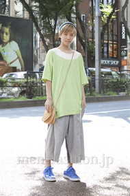 ファッションコーディネート原宿・表参道 2012年08月 内田 遼さん