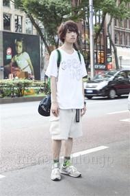 ファッションコーディネート原宿・表参道 2012年08月 浦辻大奨さん