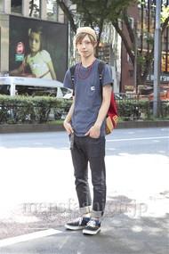 ファッションコーディネート原宿・表参道 2012年08月 シバサキタイキさん