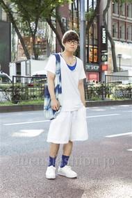 ファッションコーディネート原宿・表参道 2012年08月 石井俊伍さん