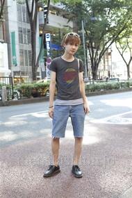 ファッションコーディネート原宿・表参道 2012年08月 星 雅人さん