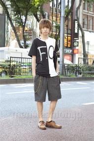 ファッションコーディネート原宿・表参道 2012年08月 村上健斗さん