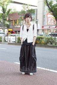 ファッションコーディネート原宿・表参道 2012年08月 小西 周さん