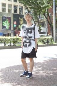 ファッションコーディネート原宿・表参道 2012年08月 アンドウコウイチさん