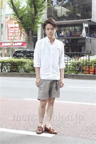 ファッションコーディネート原宿・表参道 2012年08月 増渕雄一さん
