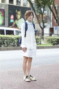 ファッションコーディネート原宿・表参道 2012年08月 長澤隆太郎さん