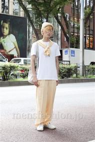 ファッションコーディネート原宿・表参道 2012年08月 加藤康貴さん