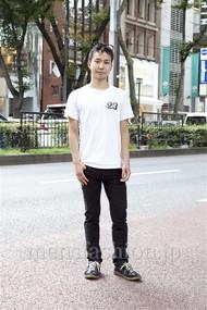 ファッションコーディネート原宿・表参道 2012年08月 島根拓朗さん