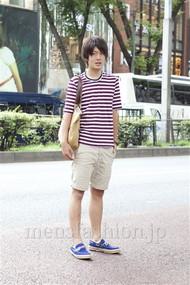 ファッションコーディネート原宿・表参道 2012年08月 藤岡秀太さん