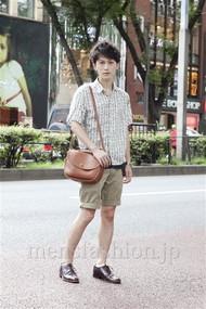 ファッションコーディネート原宿・表参道 2012年08月 桑山巧己さん