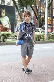 ファッションコーディネート原宿・表参道 2012年08月 川田晋吾さん
