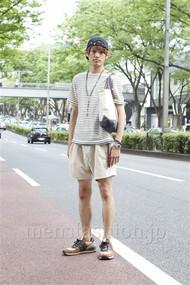 ファッションコーディネート原宿・表参道 2012年08月 上野晃宏さん