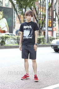 ファッションコーディネート原宿・表参道 2012年08月 音吉洋介さん
