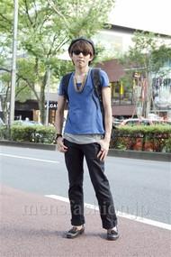 ファッションコーディネート原宿・表参道 2012年08月 大澤一嘉さん