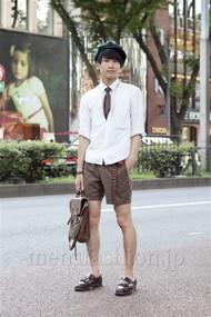 ファッションコーディネート原宿・表参道 2012年08月 赤羽元輝さん