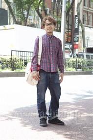 ファッションコーディネート原宿・表参道 2012年08月 川原一高さん