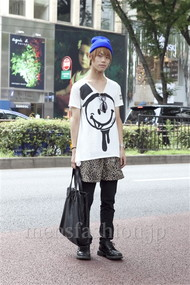 ファッションコーディネート原宿・表参道 2012年08月 五味純一さん