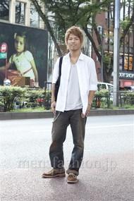 ファッションコーディネート原宿・表参道 2012年08月 隈元海人さん