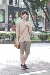 ファッションコーディネート原宿・表参道 2012年08月 濱田裕平さん