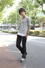 ファッションコーディネート原宿・表参道 2012年08月 大倉士門さん