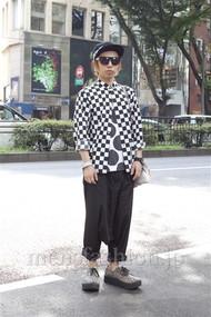 ファッションコーディネート原宿・表参道 2012年08月 ゆうきさん