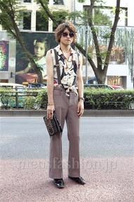 ファッションコーディネート原宿・表参道 2012年08月 矢内翔太さん