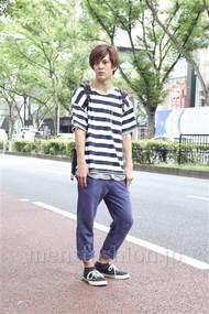 ファッションコーディネート原宿・表参道 2012年08月 佐々木和彦さん