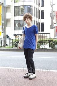 ファッションコーディネート原宿・表参道 2012年08月 宮崎寛之さん