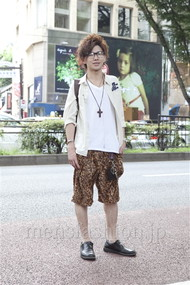 ファッションコーディネート原宿・表参道 2012年08月 ユウイチロウさん