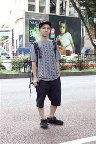 ファッションコーディネート原宿・表参道 2012年08月 Taikiさん