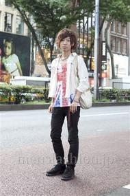 ファッションコーディネート原宿・表参道 2012年08月 岡田匠人さん