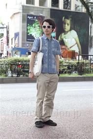 ファッションコーディネート原宿・表参道 2012年08月 青山清志さん