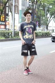 ファッションコーディネート原宿・表参道 2012年08月 晴さん