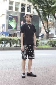 ファッションコーディネート原宿・表参道 2012年08月 小林綾太さん