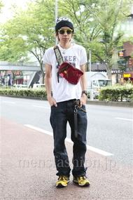 ファッションコーディネート原宿・表参道 2012年09月 青木健真さん