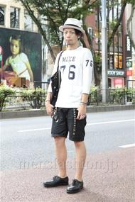 ファッションコーディネート原宿・表参道 2012年09月 小林綾太さん
