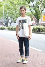 ファッションコーディネート原宿・表参道 2012年09月 伊藤健人さん
