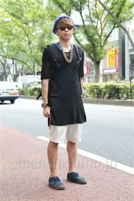 ファッションコーディネート原宿・表参道 2012年09月 大澤一嘉さん