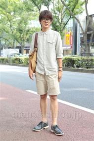ファッションコーディネート原宿・表参道 2012年09月 藤岡秀太さん