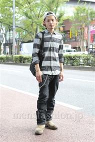 ファッションコーディネート原宿・表参道 2012年09月 佐藤拓弥さん